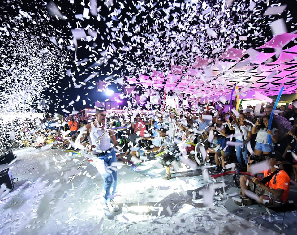 Let the party begin! Coco Bongo's exclusive show at the ATC